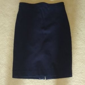 J Crew: No. 2 pencil skirt in Stretch twill